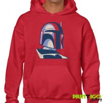 Boba Fett Hoodie Embroidered